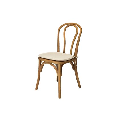 Bentwood Solid Wood Dining Chair Frame Finish: Dark Walnut