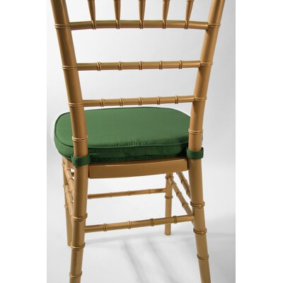 Low Price Commercial Seating Products Chiavari Double Tubing Cushion Upholstery: Hunter Green