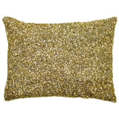 Ice Crush Boudoir Pillow Color: Gold