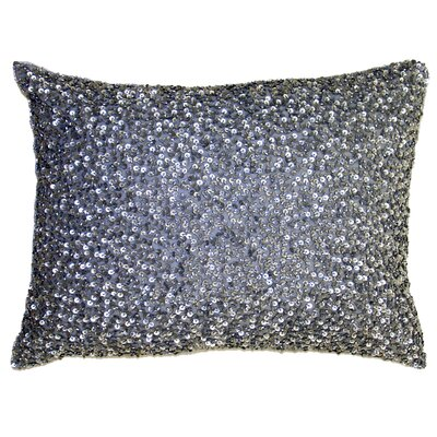 Ice Crush Boudoir Pillow Color: Silver
