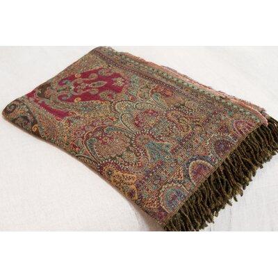 Nashik Paisley Throw Blanket