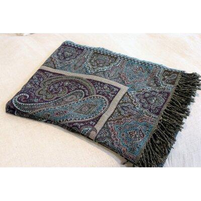 Rosstan Paisley Throw Blanket
