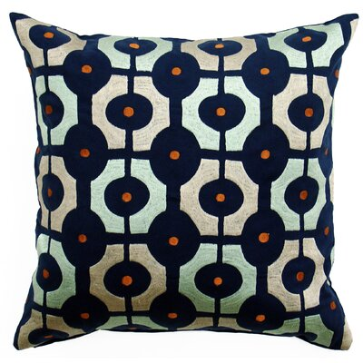 Bali Ikat Cotton Throw Pillow
