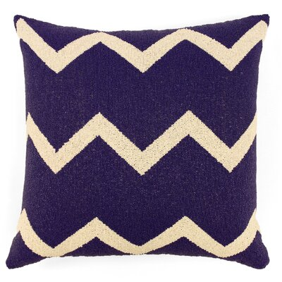 Harlequin Zig Zag Fully Beaded Silk Throw Pillow