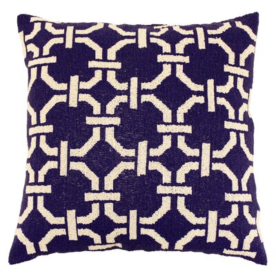 Harlequin Mosaic Fully Beaded Silk Throw Pillow
