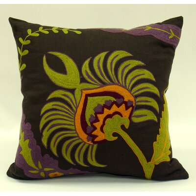 Pomegranate Flower Linen Thow Pillow