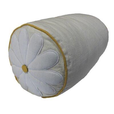 Daisy Linen Bolster Pillow