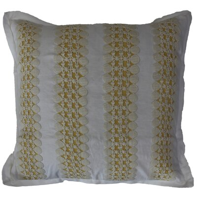 Daisy Linen Throw Pillow