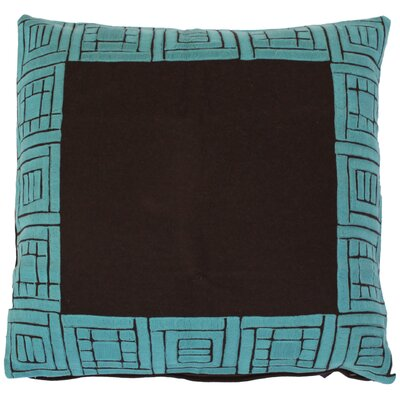 Border Klee Wool Euro Pillow