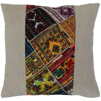 Ethnic Restoration Linen Throw Pillow