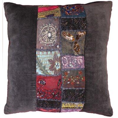 Ethnic Restoration Velvet Throw Pillow
