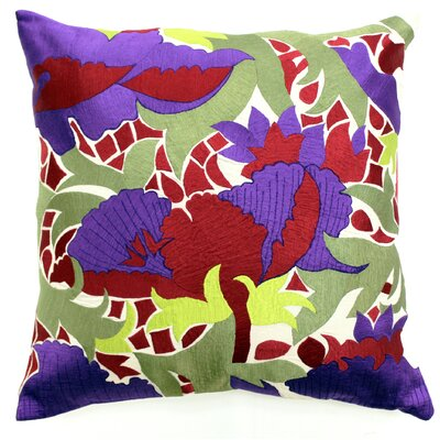 Gulmahar Throw Pillow