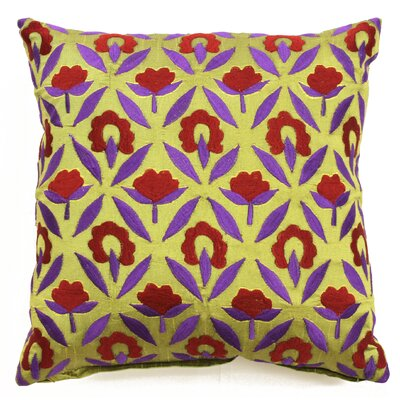 Bali Ikat Throw Pillow