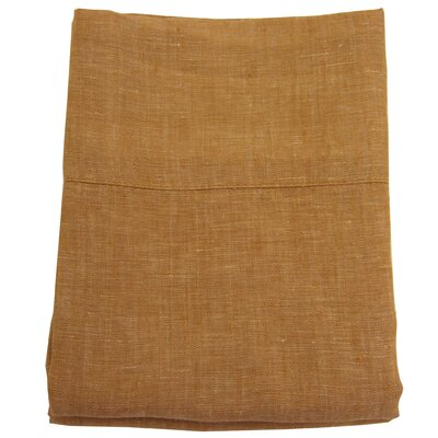 Linen Pillowcase Size: King, Color: Harvest Gold