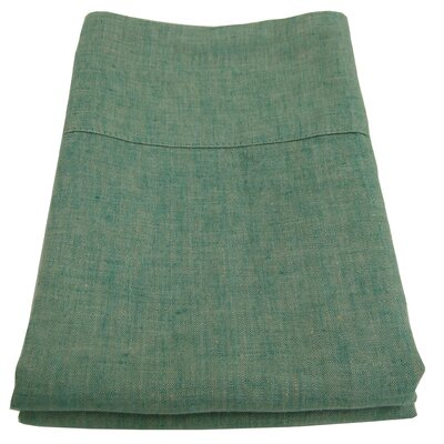 Linen Pillowcase Size: King, Color: Sage