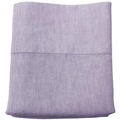 Linen Pillowcase Size: Standard/Queen, Color: Lavender