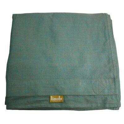 Linen Duvet Cover Size: King, Color: Sage