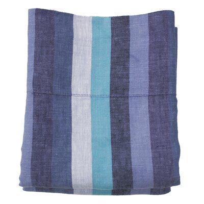 Linen Pillowcase Size: King, Color: Santorini