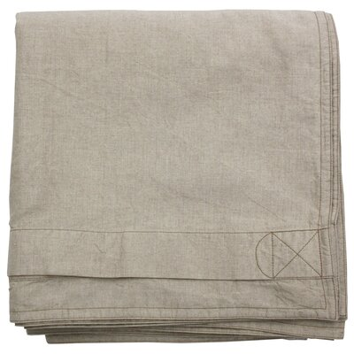 Belgian Eco-Linen Duvet Cover Size: Full/Queen, Color: Natural