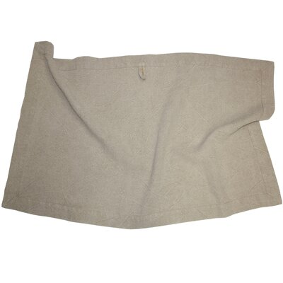 Linen Spa Bath Sheet Color: Ecru