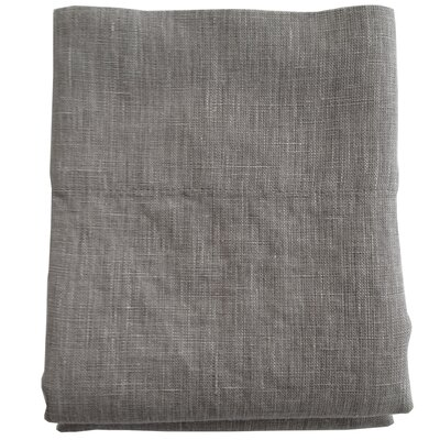 Linen Pillowcase Size: King, Color: Flax
