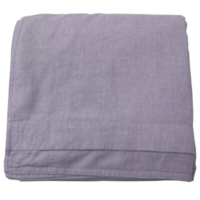 Linen Duvet Cover Size: King, Color: Lavender