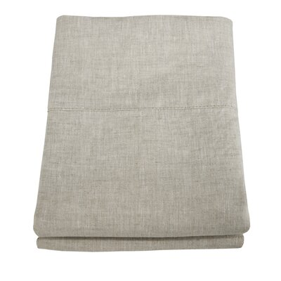 Linen Pillowcase Size: King, Color: Natural Oatmeal