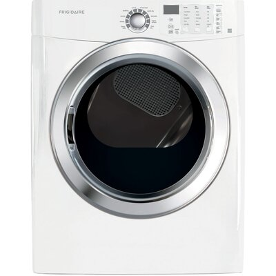 7.0 cu. ft. Gas Dryer with Ready Steam Color: White FFSG5115PW-R