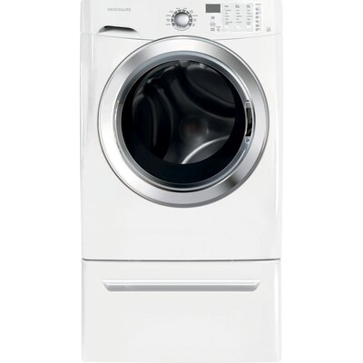 3.8 cu.ft. Front Load Washer with Ready Steam Finish: White FFFS5115PW