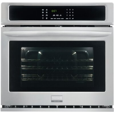 "Gallery Series 30"" Convection Electric Single Wall Oven Finish: Stainless Steel FGEW3065PF"