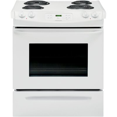 """30"""" Slide-in Electric Range Finish: White FFES3015PW-R"""