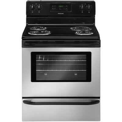 """30"""" Free-standing Electric Range Finish: Silver Mist FFEF3015LM-R"""