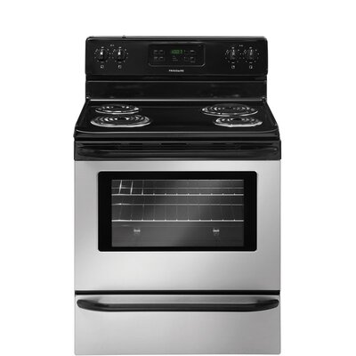 """30"""" Free-standing Electric Range Finish: Stainless Steel FFEF3015LS-R"""