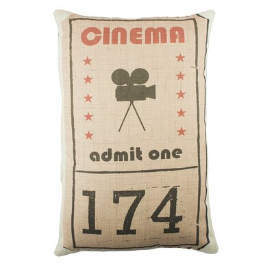 Cinema Cotton Lumbar Pillow