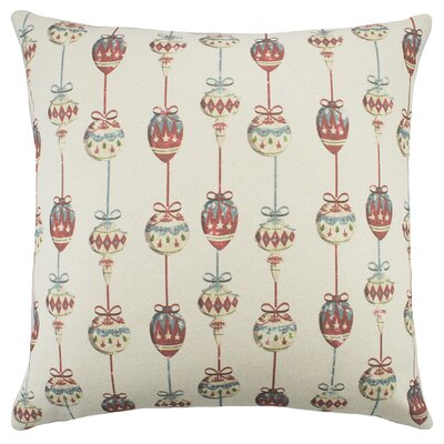 Ornaments Cotton Throw Pillow