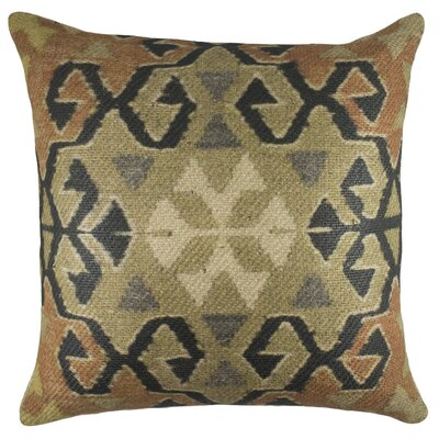 Nomad BurlapThrow Pillow