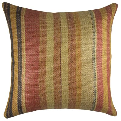 Nomad Burlap Throw Pillow