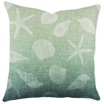 Seashell Cotton Throw Pillow