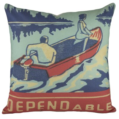 Dependable Cotton Throw Pillow