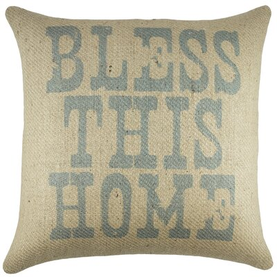 Bless This Home Throw Pillow
