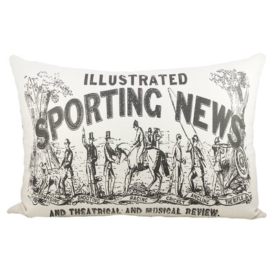 Sporting News Cotton Lumbar Pillow