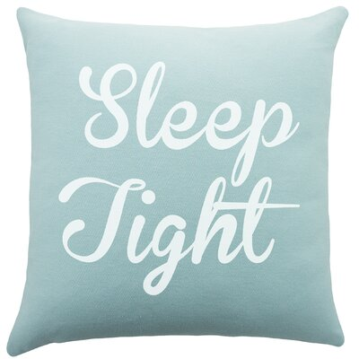 Sleep Tight Cotton Throw Pillow