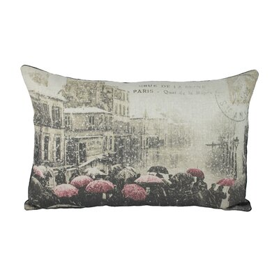 Paris Cotton Lumbar Pillow