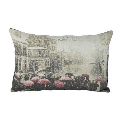 Paris Cotton Lumbar Pillow