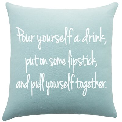 Flair Cotton Throw Pillow