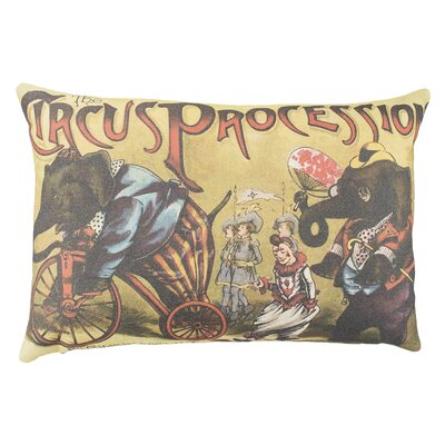 Circus Cotton Lumbar Pillow