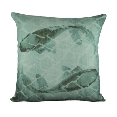 Fish Cotton Throw Pillow