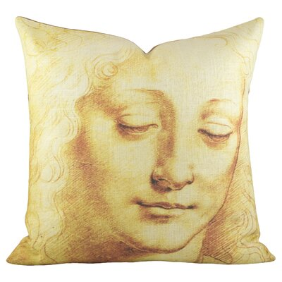 Grace Cotton Throw Pillow