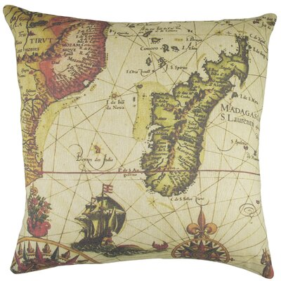 Madagascar Cotton Throw Pillow