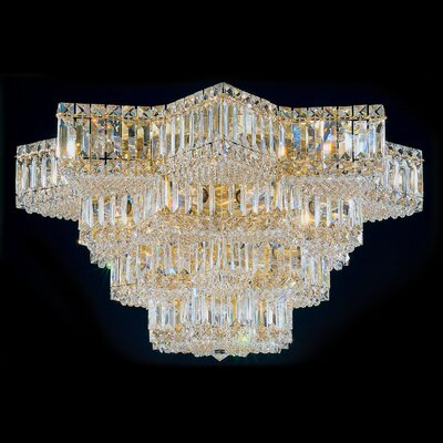 Equinoxe 29-Light Flush Mount Finish: Polished Gold
